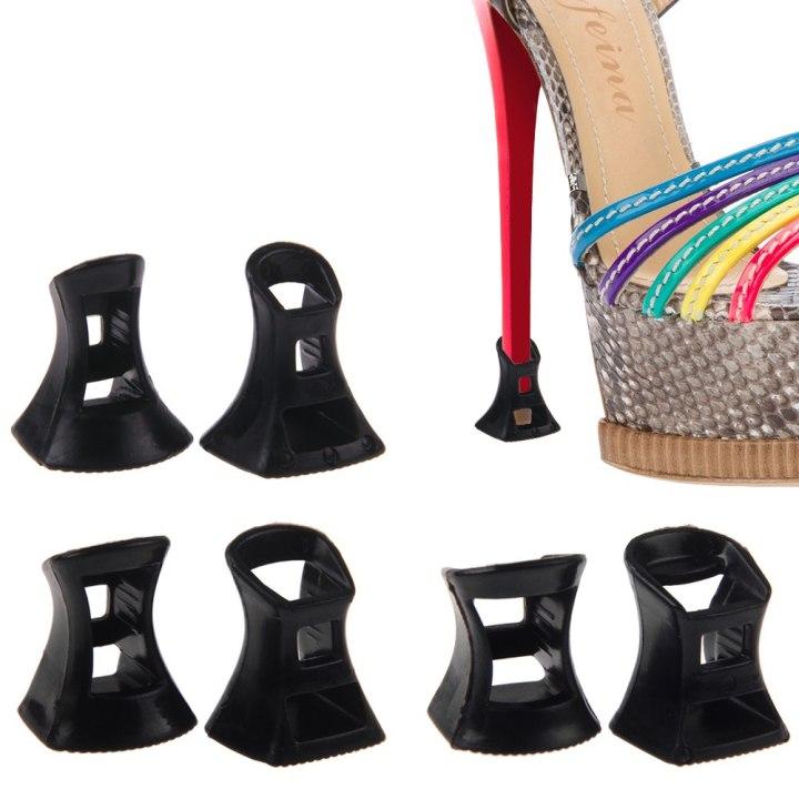 Preto-1-par-protetor-de-salto-alto-Stiletto-dança-latina-sapato-festa-de-casamento-capa-Heel
