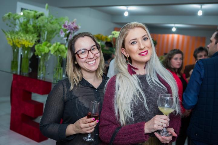 Andreza Leon e Michele Botan - Foto Tiago Trindade