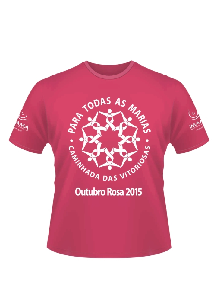 Camiseta da Caminhada das Vitoriosas 2015
