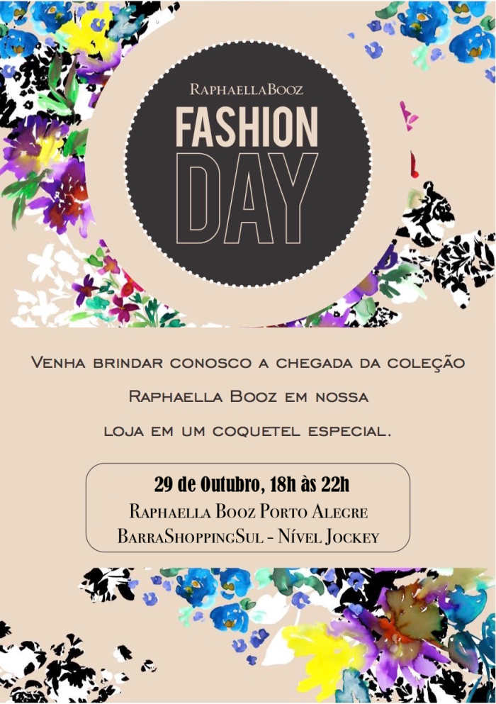 Convite Fashion Day