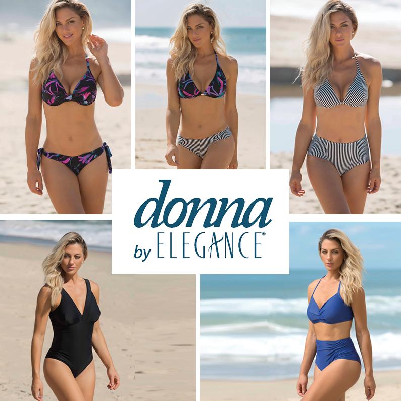 Lançamento Moda Praia Donna By Elegance
